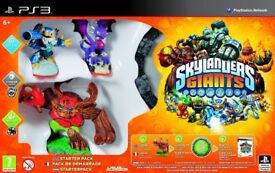 PS3 Skylanders Giants Starter Pack, Brand New, Sealed