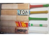 Cricket Bats Pro Grade 1 A all types levels willow quality knocked in oiled READY
