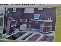 DESK SET Quick Solutions O'Sullivan Furniture Made in USA