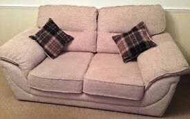 Pair of two-seater sofas for sale, both in excellent condition