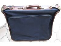 Travel case for suits Blue / Brown - Marks and Spencer label