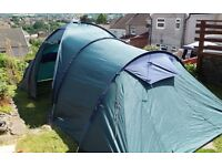 lichfield Catalan 4800 Tent. Pull out porch. Plus many extras.