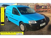 Volkswagen Caddy Maxi 1.9 Van- 27K Miles Only -1 Owner , FSH-4 Stamps ,1YR MOT, Air Con, Warranty