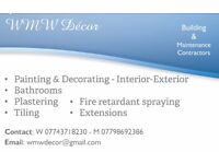 Quality Painting & Decorating - Building Contractors