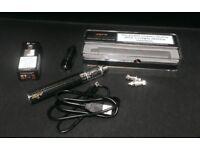 Vape E-cigarette Aspire K3 starter kit 1 spare tank 3 spare coils Black