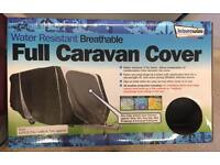*New* Water Resistant Breathable Full Caravan Cover ~ Small