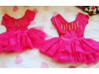 Pink dance outfits