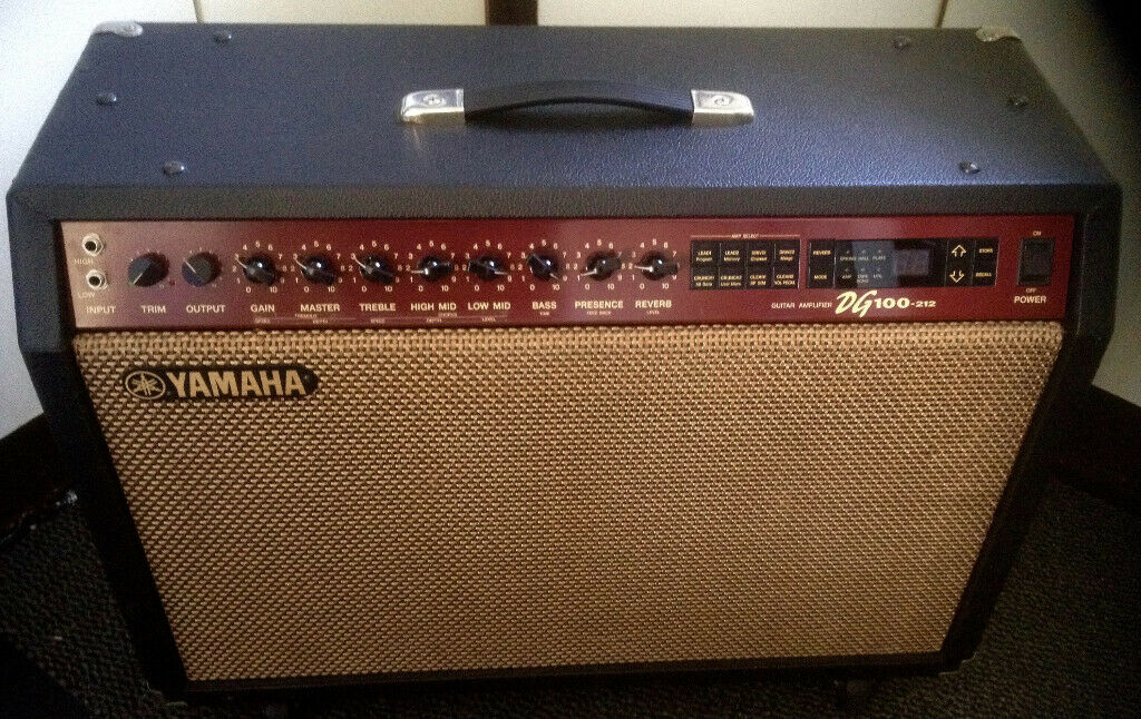 Vintage Yamaha DG 100 212 Guitar amplifier for sale | in Bournemouth,  Dorset | Gumtree