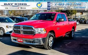 2016 Ram 1500 SLT, 4x4, REMOTE START, BLUETOOTH, A/C, PWR WINDOW