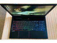 MSI GS63 7RD Gaming Laptop i7-7700HQ 2.8GHz 8GB RAM, 256SSD+500GB, GTX1050, Win10