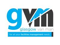 Glasgow Van Man - Removal Service Established 2008 from £50 - Disclosure Checked - 8 vans