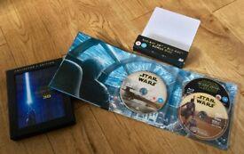 Star Wars Force Awakens 3D Blu Ray no 3D Disc