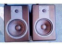 M audio Bx8 studio monitors