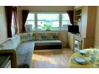 2 bedroom static caravan £224 per month - sited on the Isle of Sheppey - 4 parks to choose from