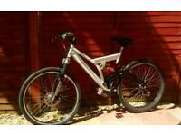 Adults full suspension mountian bike