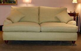 Duresta three seater sofa in excellent condition.