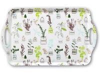 Cooksmart Herb Garden Design Large Melamine Tray 48 cm x 26 cm