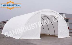 20x30x12 and 30x40x15 Portable Fabric Storage Building