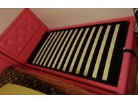 Pink Single Bed with Storage (Gas Lift)
