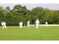 Cricket Club seeking new players. Come and join us for fun social, or competitive league cricket