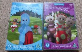 In the Night Garden DVD's