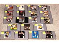 N64 cartridges