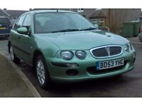 Lovley Rover 25, no problems mechanicly sound, perfect runner 85000 miles 10 months MOT