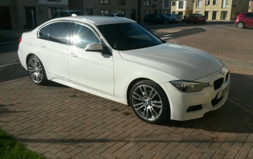 Bmw 320d M Sport White 2013 In Earlsheaton West