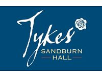 Waiting & Bar Staff - Tykes Restaurant & Banqueting, Excellent Perks & Prospects. No exp. nec.