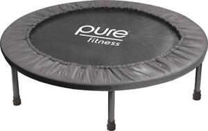 """Pure Fitness 38"""" Mini Rebounder Trampoline, Ages 13+"""