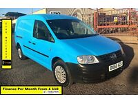 Volkswagen Caddy Maxi 1.9 TDI Van- 53K Miles Only-1 Owner , FSH-6 Stamps ,1YR MOT,Air Con, Warranty