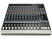 Mackie 1642 VLZ 3 Mixing desk / Mixer - Rack Mount rolling studio stand - Rack ears
