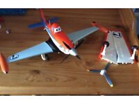 Talking dusty plane with interchangeable wings and propeller