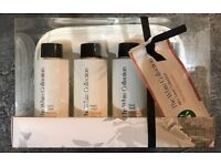 the white collection mini travel gift set new