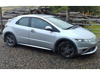 Honda Civic 5 door Hatch with a long MOT and genuine documented LOW mileage!