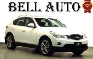 2012 Infiniti EX35 LUXURY PKG SROUNDING CAMERA SUNROOF LEATHER I