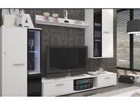 Modern Living Room Furniture Set TV Unit Cabinet Stand Cupboard Wall Shelves