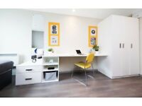 STUDENT ROOMS TO RENT IN LONDON. ENSUITE WITH PRIVATE ROOM,PRIVATE BATHROOM AND STUDY SPACE
