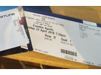 JOE SATRIANI G3 APRIL 25TH SOLD OUT TICKET
