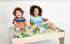 Mothercare ELC Big City Wooden Rail Train Table. Brand new in box.