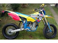 Husaberg FS650 2002 High Comp - ENGINE REBUILD & RARE N-STYLE DECALS