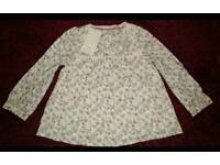 Monsoon. 4-5yrs Floral Top