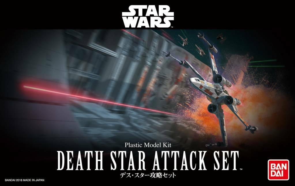 Bandai Star Wars Death Star Attack Set 1/144 Scale Building Kit USA Seller
