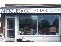 NOW OPEN: Antiques & Collectables Shop In Crossgates, Leeds, UK: WE BUY & SELL