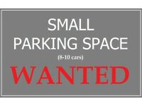 PARKING / YARD in Cardiff - WANTED