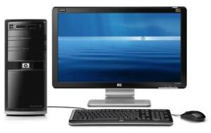 Ordinateur Complet I5-3570 3.4ghz, 8 Go dd3, 500 Go, windows 10 ou 7, LCD 19po Wide, petit Boîtier HP SFF Professionnel