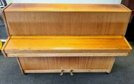 Lovely Oak 'Fuchs & Mohr' Compact Upright Piano - CAN DELIVER