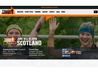 Tough Mudder Scotland - 16 June 2018