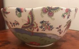 Wedgwood Fine Bone China Round Serving Bowl from The Butterfly Bloom Collection. New in Original Box