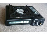 Yellowstone Portable Gas Stove - Black